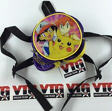 RARE Vintage Pokemon Zzort! Zest! PVC (MINI) Backpack (7x7 Inches) 90's