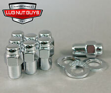 20 LUG NUTS 1/2 CHROME MAG NUT .75 SHANK CRAGAR 1/2-20