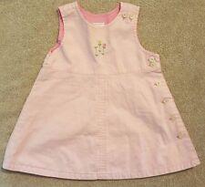 ADORABLE! BABYGAP 3-6 MONTH PINK FLORAL JUMPER DRESS
