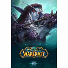 "Blizzard Blizzcon 2016 World of Warcraft Sylvanas Poster Art 27"" x 40"""