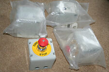 control station switch push button equipment emergency stop Graig and Derricott