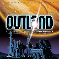 Outland - 2 x CD Complete Score - Limited 5000 - Jerry Goldsmith