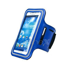 Brazalete Deportivo Neopreno AZUL para Samsung Galaxy R i9103 a360