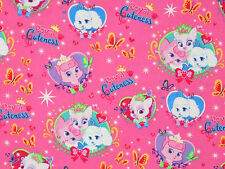 DISNEY PALACE ROYAL PRINCESS CUTENESS PETS SPRING CREATIVE COTTON FABRIC YARDAGE