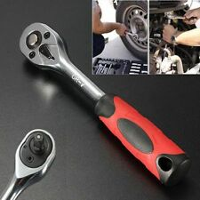 "Professional Quick Release 1/4"" Inch Drive 72 Teeth Drive Ratchet Wrench Tool"