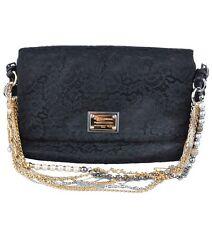 DOLCE & GABBANA MISS BAROQUE Handtasche Tasche Schwarz Handbag Bag Black 03368