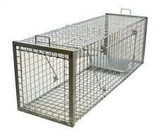 Heavy Duty X-Large Live Animal Trap-Coyote, Dog, Bobcat, Wolf, Mountain Lion,Fox