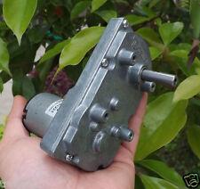 Japan TSUKASA DC6V 12V 24V Gear Motor Full Metal Gear 500g 24-98 rpm / min