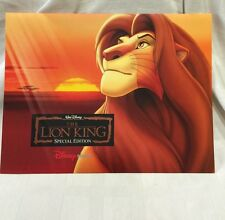 Disney,Lithograph Portfolio Set, The Lion King, Special Edition
