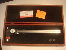 Starrett 120Z-12 White Dial Caliper, Stainless Steel
