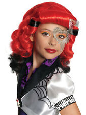Child Monster High Operetta Wig Fancy Dress Book Week Kids Halloween Girls