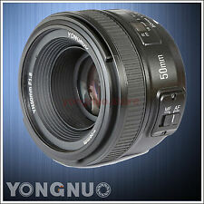 Yongnuo 50mm F1.8 1:1.8 Standard Prime Lens AF / MF Auto Manual Focus for Nikon