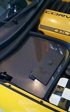 C5 Corvette battery den cover plate real carbon fiber. Free priority mail!
