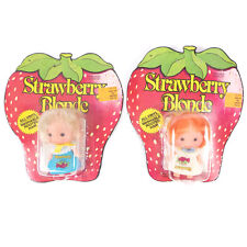 Pair of 2 Vintage Strawberry Blonde Ginger Figure Dolls Unopened SEALED 3""