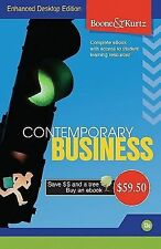 Boone & Kurtz CONTEMPORARY BUSINESS Complete e-book - Enhanced Desktop Edition