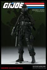 SIDESHOW COLLECTABLES Exclusive GI Joe Snake Eyes 1:6 Scale Figure - NEW