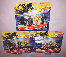 3x Justice League MIGHTY MINIS 3 Pack Action Figures BUILD DARKSEID **NEW**