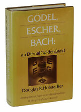 Godel Escher Bach ~ Signed by DOUGLAS HOFSTADTER ~ First Edition 7th Printing