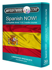 Learn to Speak Spanish Fluently Complete Language Training Course Level 1 & 2