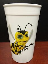 Lot of 10 NASONEX Drug Rep Plastic Cups NEW BEE Bumblebee Advertising Pharma
