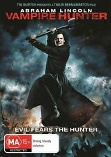 Abraham Lincoln - Vampire Hunter DVD Region 4 (VG Condition)