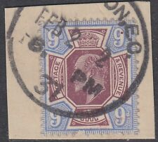SG 307 9d Dull Reddish Purple & Blue M41(3) in fine used condition, London CDS.