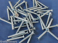 3mm x 25mm SLOTTED COUNTERSUNK MACHINE SCREWS M3 SCREW PACK NEW QUANTITY OF 20