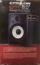 "Epsilon - EPM80 - Precision Power 8"" Bi-amp 2-way Reference Monitors Speaker"