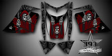 SKI-DOO REV MXZ SNOWMOBILE SLED WRAP GRAPHICS DECAL KIT 03-07 Reaper Red
