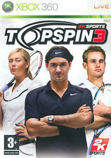 Top Spin 3 (Tennis) XBOX 360 IT IMPORT TAKE TWO INTERACTIVE