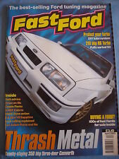 Fast Ford April 2002 - RS Turbo - Cosworth - Arch rolling explained