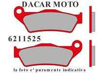 6211525 COPPIA PASTIGLIE ANTERIORI MALOSSI HUSQVARNA CH RACING 50 2T LC (AM 6)