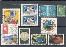 LOTTO 12 FRANCOBOLLI USATI Francia - 12 USED STAMPS France