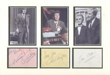 COLIN CROMPTON & RAY ALAN (WHEELTAPPERS) SIGNED AUTOGRAPHS