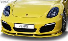 RDX Frontspoiler VARIO-X für PORSCHE Boxster (981) 2012+
