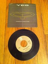 "YES Owner Of A Lonely Heart 7"" single record 1983 Our Song Classic Prog Rock old"