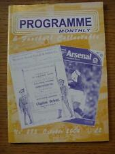 Oct-2004 Programme Monthly & Collectable: The Voice Of 'Football Programme' Coll
