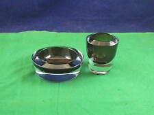 Vintage  STROMBERGSHYTANN Swedish Cased Glass Bowls art glass P3553 USC