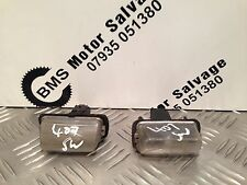 PEUGEOT 407 1.6 HDI SW 2010 (59) REAR NUMBER PLATE LENSES X2