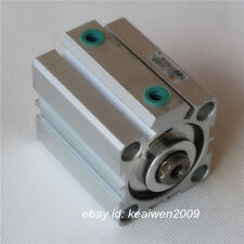 SDA25x25 Pneumatic Double Acting Compact Thin Air Cylinder 25mm Bore 25mm Stroke