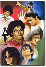 "King Of Pop Michael Jackson Art Fridge Toolbox Magnet 2.5"" x 3.5"""