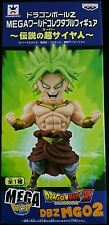 DRAGON BALL Z MEGA WCF BROLY FIGURE NEW