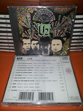 CD U2 - LIVE IN BOLOGNA - 1985