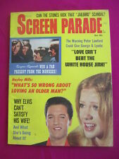 Screen Parade magazine - December 1967, Elvis,Monkees,Rolling Stones
