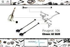 CITROEN AX SAXO PEUGOEOT 106 GEAR LINK LINKAGE RODS KIT SET