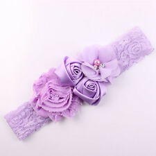 1pcs Cute Lace Flower Design Hair Bow for Baby Beautiful Girl's Hair Accessories