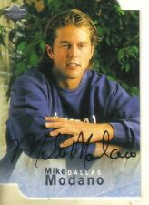 1996-97 BE A PLAYER - DIE-CUT AUTOGRAPH - MIKE MODANO