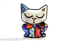 ROMERO BRITTO MINI MINIATURE CAT NEW ITEM