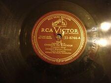 """Leonard Warren CHANSON DU TOREADOR / LARGO AL FACTOTUM  12"""" 78 RPM"""