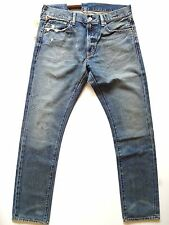 New Ralph Lauren Denim & Supply Slim Fit Stained Distressed Jeans size 32 x 34